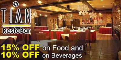 Tian Restaurant offers India