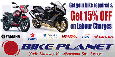 Bike Planet offers India