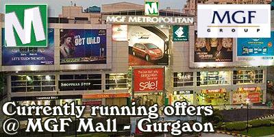 MGF Metropolitan Mall - Gurgaon Sale Offers India