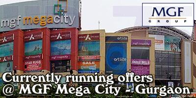 Mega City Mall - Gurgaon  Sale Offers India