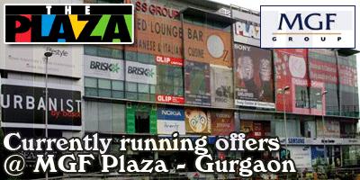 MGF Plaza  Mall - Gurgaon  Sale Offers India
