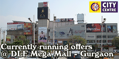 DLF City Center Mall - Gurgaon  Sale Offers India