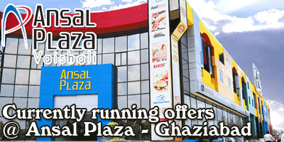 Ansal Plaza Mall - Ghaziabad  Sale Offers India