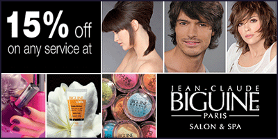 Jean Claude Biguine Salon & Spa offers India