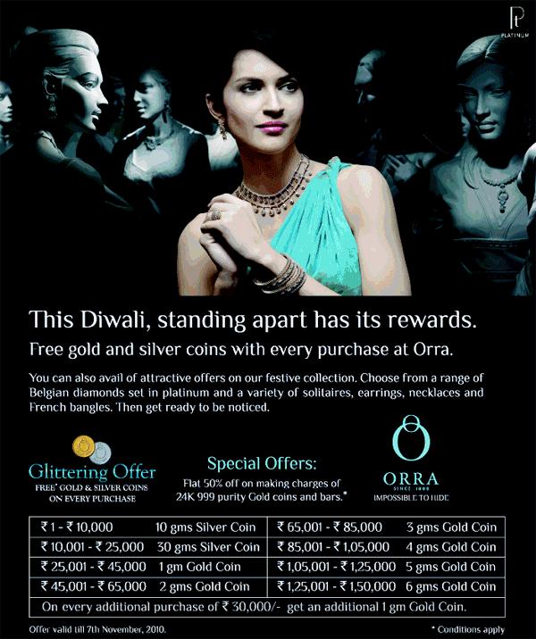 Orra offers India