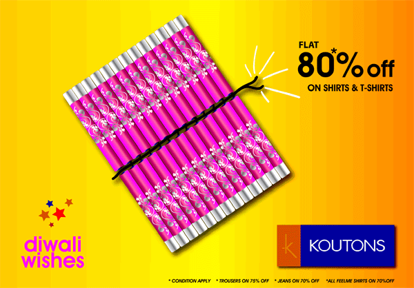 Koutons offers India