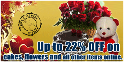 www.cakesnflowers.com offers India