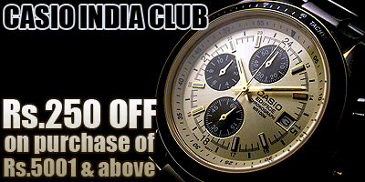 CasioIndiaClub offers India