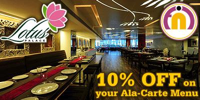 Food n I - Lotus Palace offers India