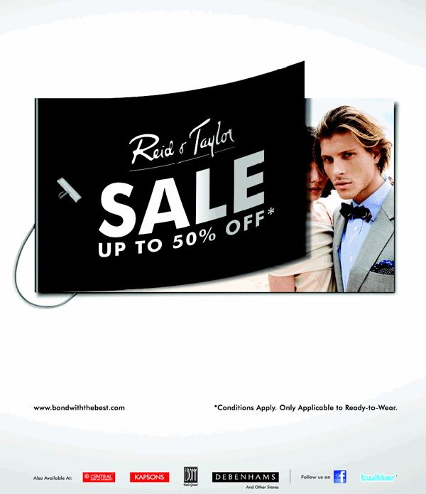 Reid & Taylor offers India