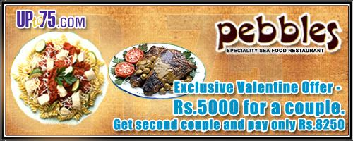 Pebbles offers India