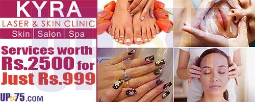 Kyra Laser & Skin Clinic offers India