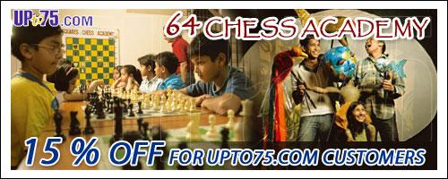 64 Squares Chess Academy offers India