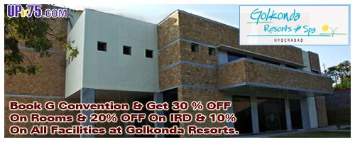 Golkonda Resorts & Spa - G Convention offers India