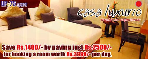 Casa Luxurio offers India
