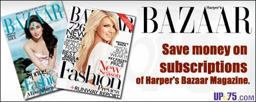 Harpers Bazaar offers India