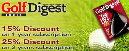 Golf Digest India offers India