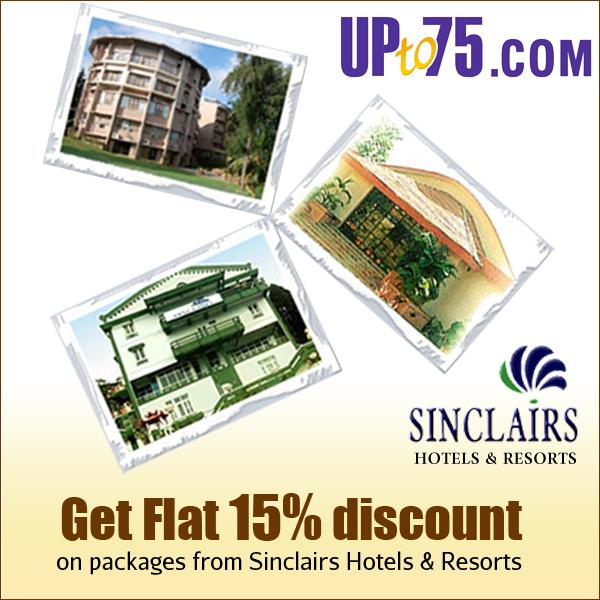Hotel Sinclairs offers India