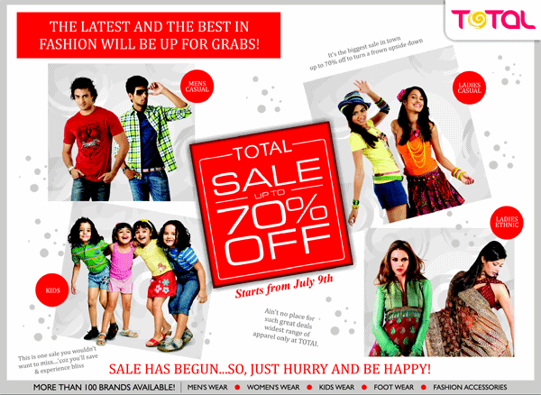 Total offers India