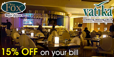 The Fox Bar and Restaurant offers India