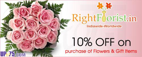 RightFlorist offers India