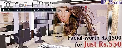 Mazimo Unisex Salon offers India