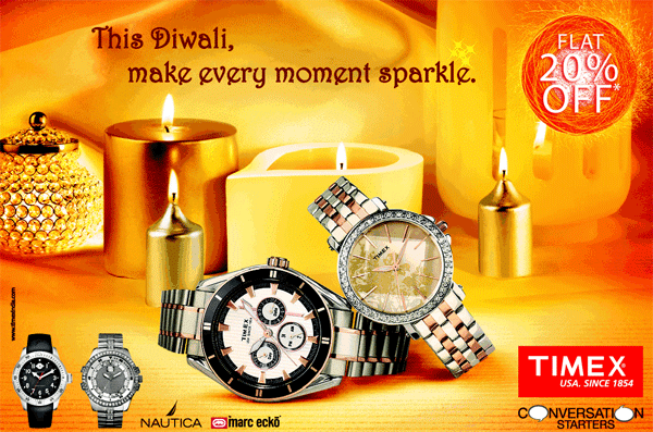 Timex The Time Factory offers India