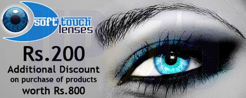 SoftTouchLenses offers India
