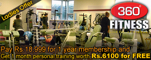 360 Degree Fitness offers India