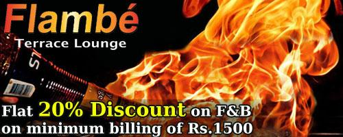 Flambe offers India