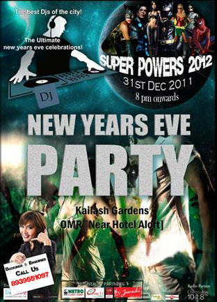 Super Powers 2012 offers India