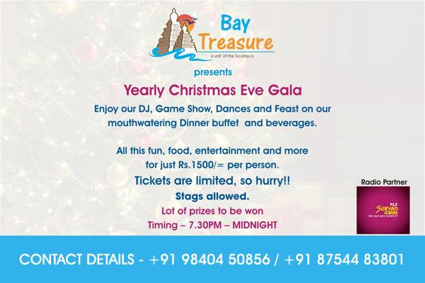 Bay Treasure offers India