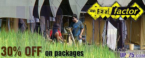 Camp Feel Factor offers India