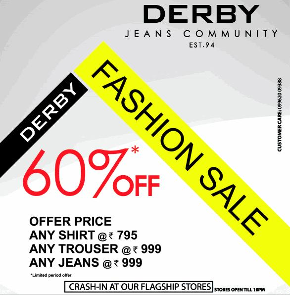 Derby offers India