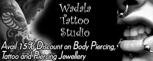 Wadala Tattoo Studio offers India