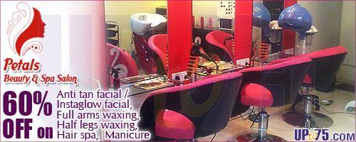 Petals Beauty & Spa Salon offers India