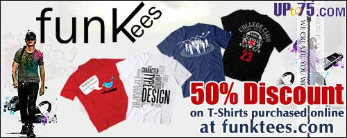 FunkTees offers India