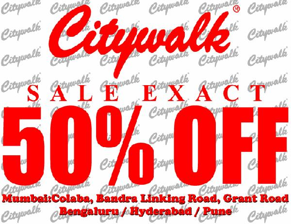 City Walk offers India
