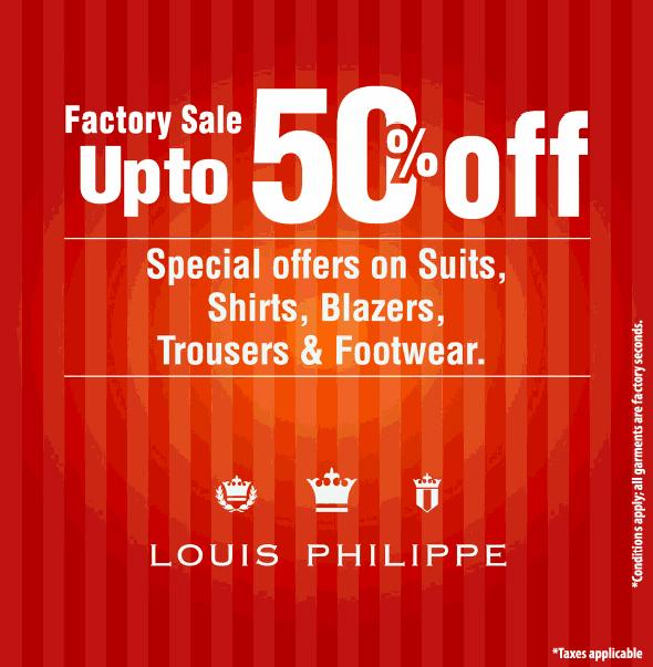 Louis Philippe offers India