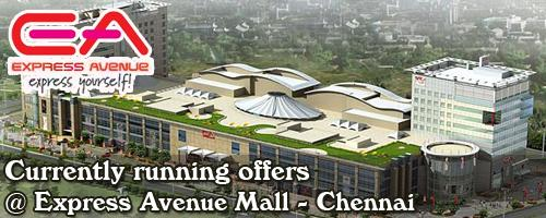 Express Avenue Mall - Chennai Sale Offers India