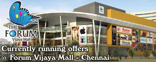 The Forum Vijaya Mall - Chennai Sale Offers India