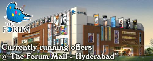 Forum Sujana Mall - Hyderabad Sale Offers India