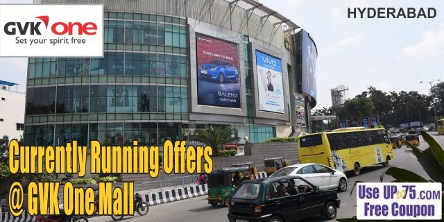 GVK One Mall - Hyderabad Sale Offers India
