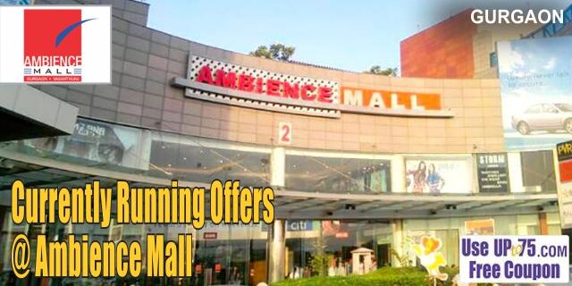 Ambience Mall - Gurgaon Sale Offers India