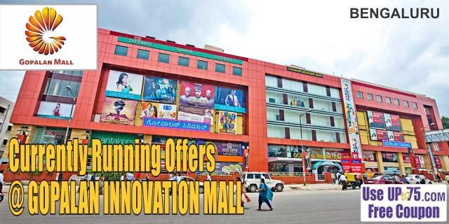 Innovation Gopalan Mall -  Bangalore Sale Offers India