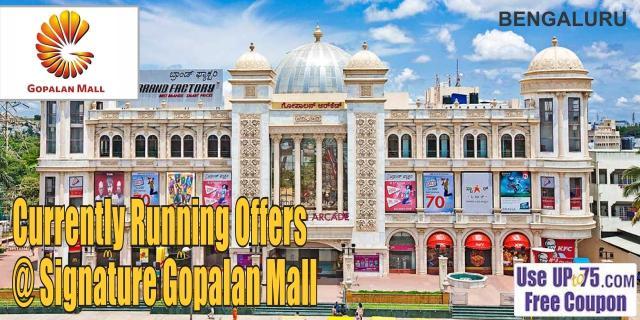 Signature Gopalan Mall - Bangalore Sale Offers India