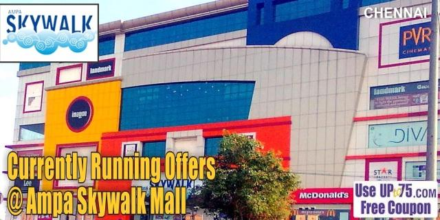 Ampa Skywalk Mall - Chennai Sale Offers India