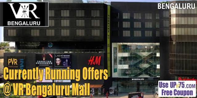 VR Bengaluru Mall Sale Offers India