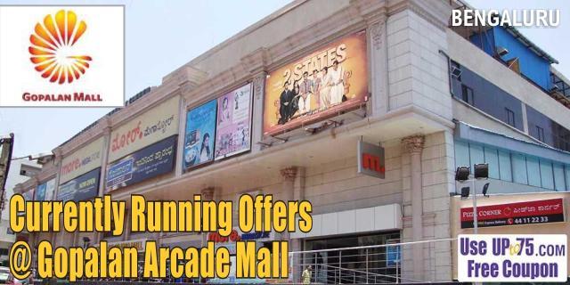 Gopalan Arcade Mall - Bangalore Sale Offers India