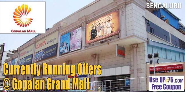 Gopalan Grand Mall- Bangalore Sale Offers India